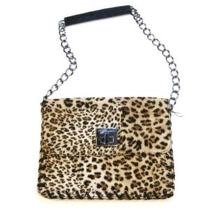BCBGeneration Handbag Shoulderbag Cheetah Leopard